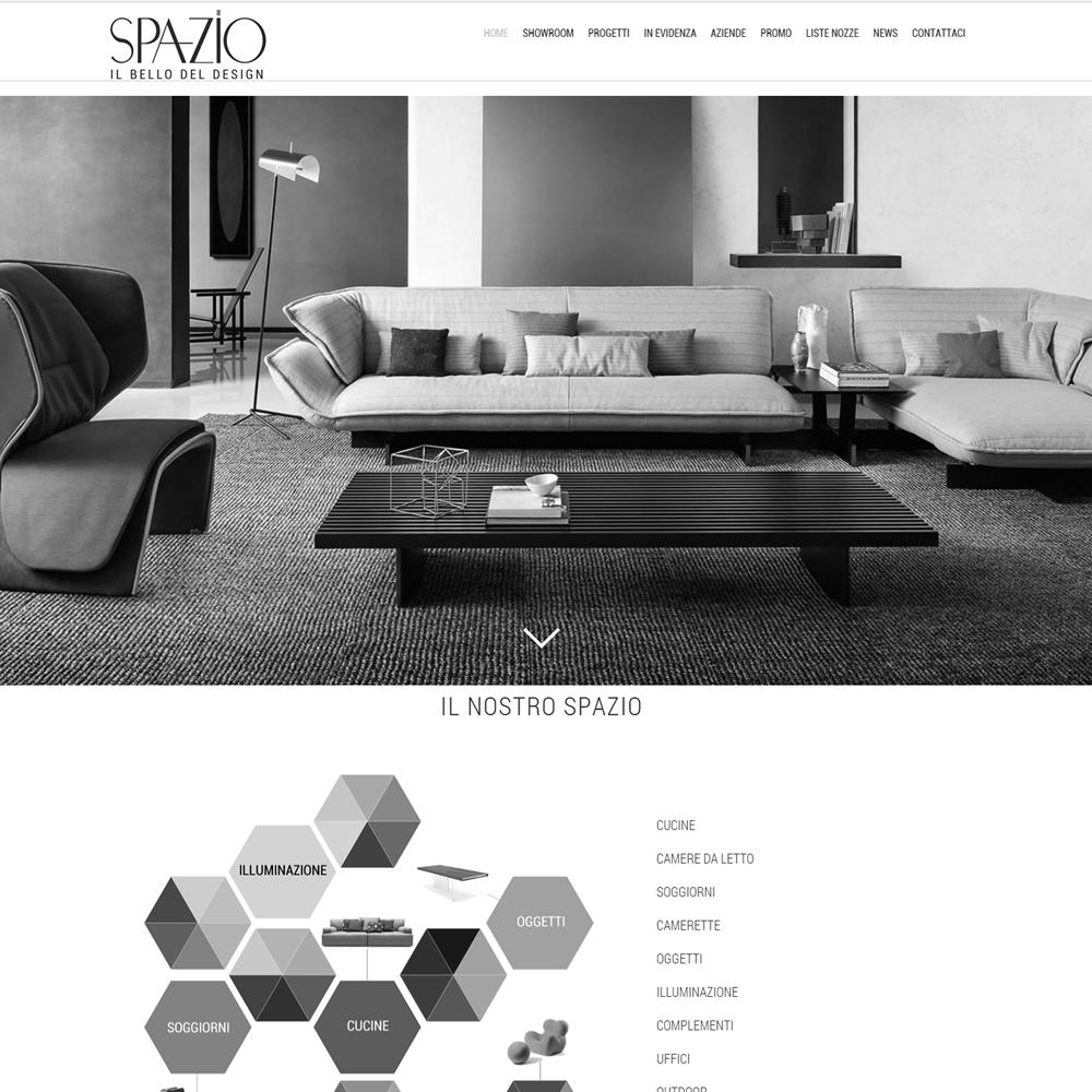 Portfolio web virtualars siti internet stampa digitale for Spazio arredamenti caltagirone