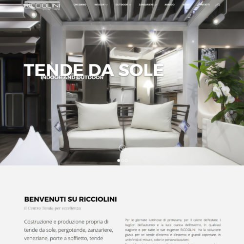 Centro tenda Ricciolini
